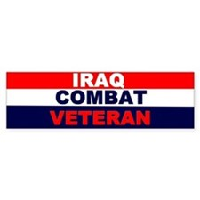 Bumper Sticker/IRAQ COMBAT VETERAN