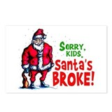 Santa's Broke Postcards (Package of 8)