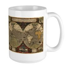 1595 Map of the Known World Mug