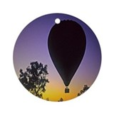 EArly Morning Balloon ride Australia Ornament (Rou