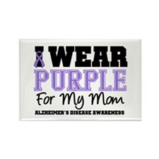Alzheimer's Mom Rectangle Magnet