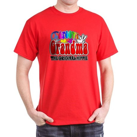 Groovy Grandma Dark T-Shirt