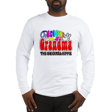 Groovy Grandma Long Sleeve T-Shirt