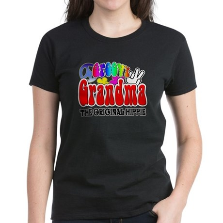 Groovy Grandma Women's Dark T-Shirt