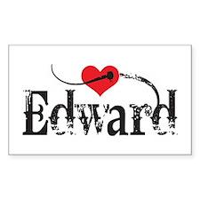 Twilight Fan Edward Decal