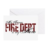 My Fiance My Hero - Fire Dept Greeting Cards (Pk o