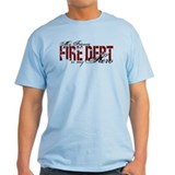 My Fiance My Hero - Fire Dept T-Shirt
