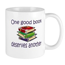 One good book deserves anothe Mug