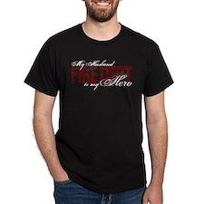 My Husband My Hero - Fire Dept T-Shirt