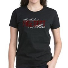My Husband My Hero - Fire Dept Tee