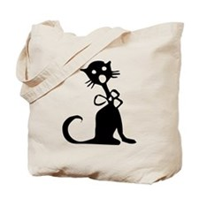 1950's Singing Black Cat Tote Bag