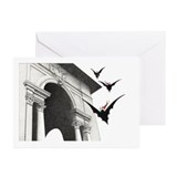 Gothic christmas cards Greeting Cards (20 Pack)