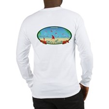 Kiteboarding Kitesurfing Long Sleeve T-Shirt