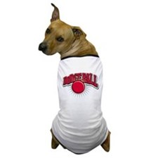 Dodge Ball Logo Dog T-Shirt