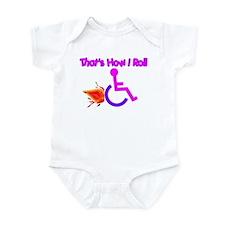 Pink & Purple Infant Bodysuit