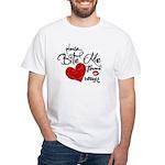 Please Bite Me Edward White T-Shirt
