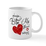 Please Bite Me Edward Mug