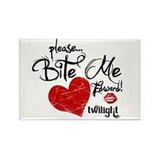 Please Bite Me Edward Rectangle Magnet (10 pack)