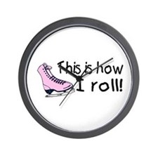 This Is How I Roll (Skate) Wall Clock