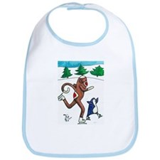 2008 Christmas Sock Monkey an Bib