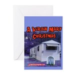 Virgin Mary Christmas Greeting Cards (Pk of 10)