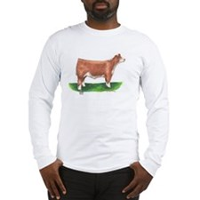 Hereford Steer Long Sleeve T-Shirt