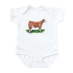 Hereford Steer Infant Bodysuit