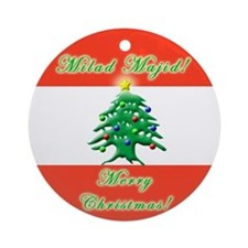 ''Milad Majid!'' Ornament (Round)