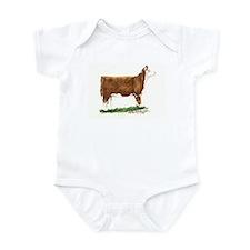 Hereford Heifer Infant Bodysuit