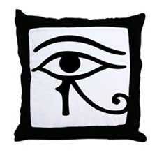 The Eye of Ra Throw Pillow