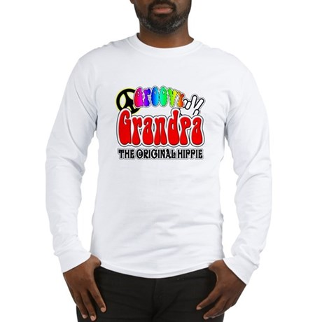 Groovy Grandpa Long Sleeve T-Shirt