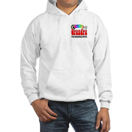 Groovy Grandpa Hooded Sweatshirt