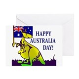 Australia Day Greeting Card