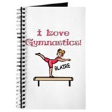 I Love Gymnastics (Blaire) Journal