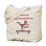 I Love Gymnastics (Alexis) Tote Bag