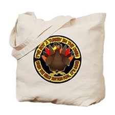 Turkey in the Oven Tote Bag