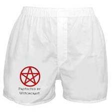 Boxer Shorts - Protected by witchcraft