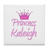 Princess Kaleigh Tile Coaster
