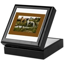 Three Greyhounds Keepsake Box