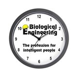 Smart Biological Engineer Wall Clock
