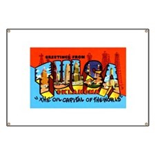 Tulsa Oklahoma Greetings Banner