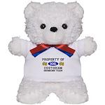 Property of Custodian Drinking Team Teddy Bear