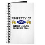 Property of Custodian Drinking Team Journal
