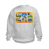 Washington DC Greetings Sweatshirt