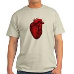 Vintage Anatomical Human Heart Light T-Shirt
