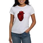 Vintage Anatomical Human Heart Women's T-Shirt