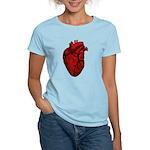 Anatomical Human Heart Women's Light T-Shirt