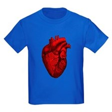Vintage Anatomical Human Heart T