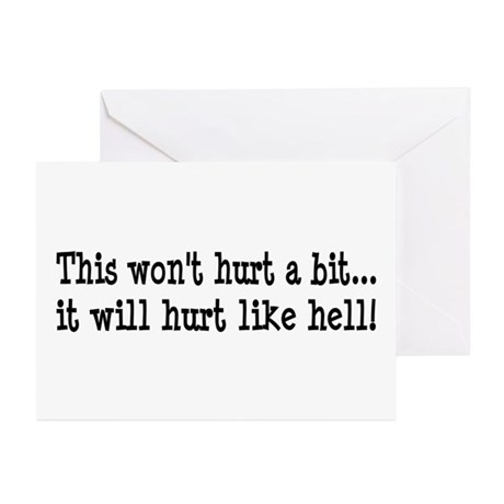 Nurse, Physical Therapist Greeting Cards (Pk of 10