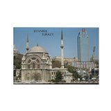 City of Contrast Rectangle Magnet